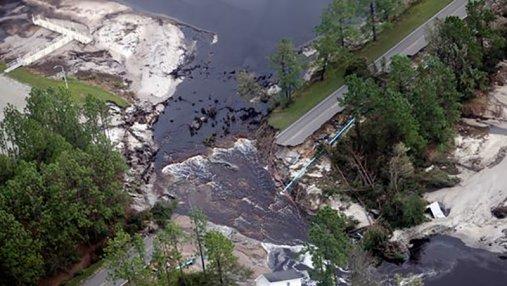 Возросло количество жертв урагана Флоренс в США: ужасные фото стихии