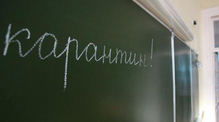 В украинских школах породили карантин