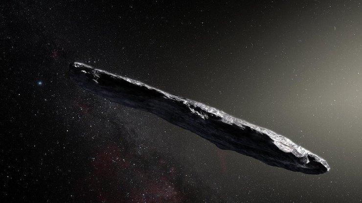 В космосе вероятно обнаружили корабль пришельцев в астероиде Оумуамуа