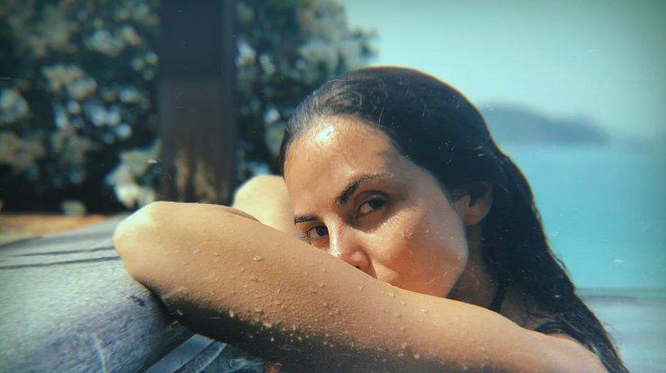 Каменских показала мистическое видео в купальнике под водой