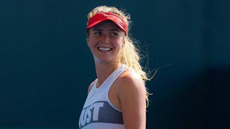 Свитолина пробилась в четвертьфинал в США