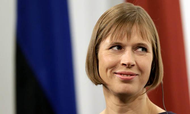Президент Эстонии рассказала о визите в НАБУ