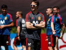 Находясь в лагере сборной, Лопетеги подписал контракт с Реалом