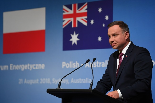 Poland aims to become regional energy hub: president