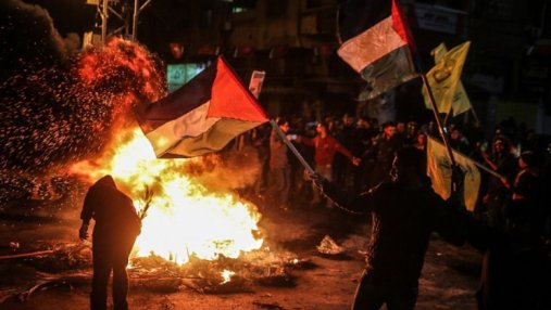 После заявления Трампа в Иерусалиме разгорелись столкновения: слышны взрывы – онлайн