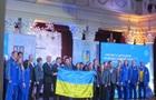 Украинских спортсменов торжественно провели на зимнюю Олимпиаду