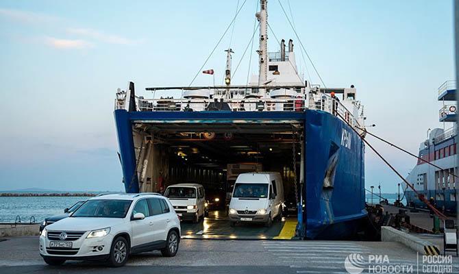 Аннексированный Крым намерен открыть паромную линию в Турцию