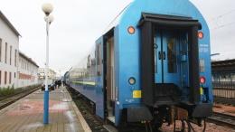 Новый вагон Укрзализныци сломался во время первого рейса в Австрии