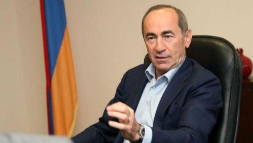 Бывшего президента Армении суд арестовал на 2 месяца
