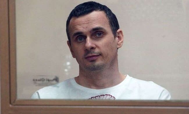 Sentsov says won't end hunger strike, asks to pass on 'big hello' to ECHR - lawyer