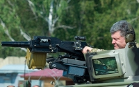 Порошенко показал модернизированный украинский танк (видео)