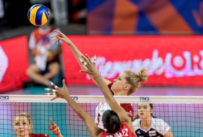 Women's volleyball: Poland beaten by Dominican Republic
