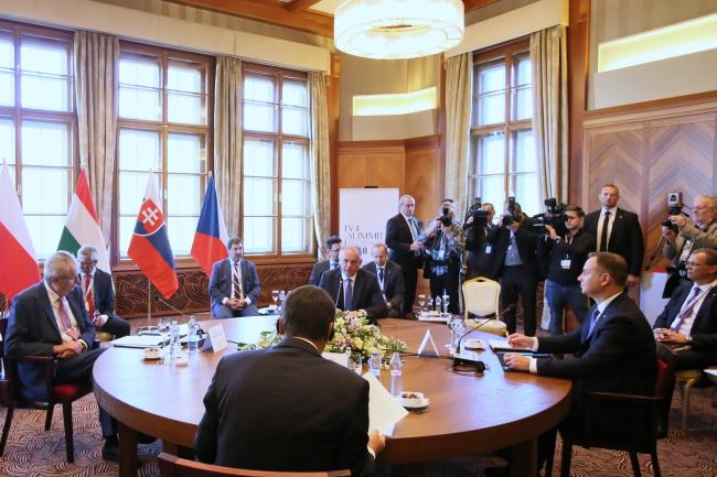 У Словаччині стартував саміт президентів країн Вишеградської групи