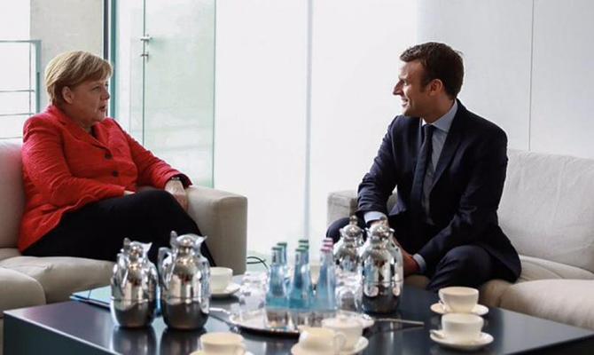 Меркель и Макрон договорились об углублении сотрудничества Германии и Франции в интересах всей Европы