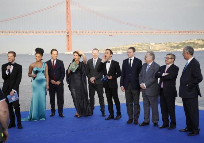 В Лиссабоне открыли Евровидение-2018 - ВИДЕО