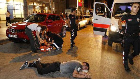 В Турции российский турист ударил полицейского и оказался в больнице