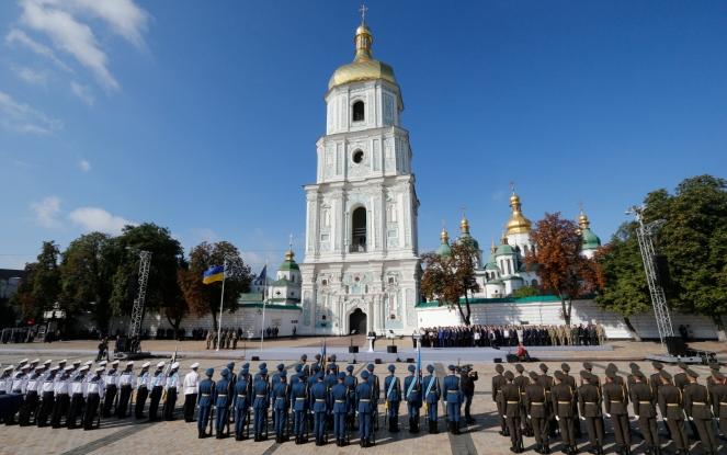Україна святкує 26 річницю Дня Незалежності