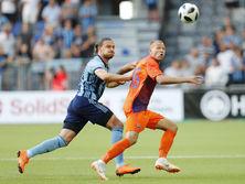 Ответный матч состоится 2 августа в Одессе