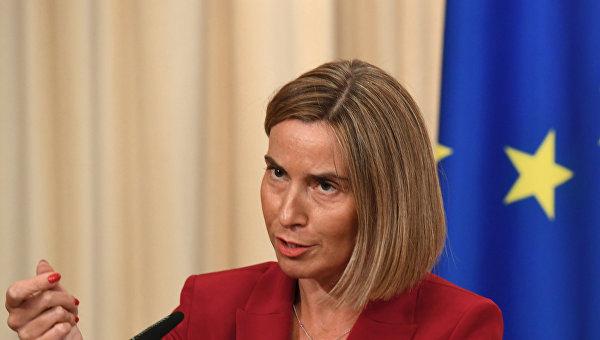 Могерини сделала новое заявление по ЕС и минским оглашениям