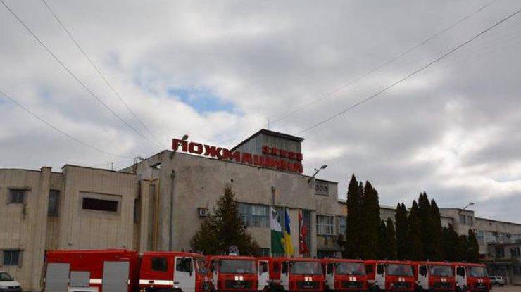 В Украине выпустили новые пожарные машины