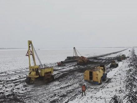 Цього року Укртрансгаз збудував і замінив 20 км транзитного газогону