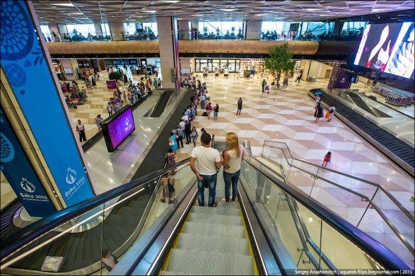 TravelManiac: Аэропорт Гейдар Алиев – один из лучших в мире Фото