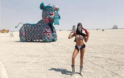 Фестиваль безумия. На Burning Man сгорел человек