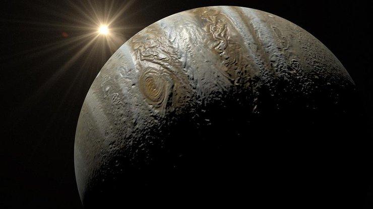 На поверхности Юпитера зафиксировали тень (фото)