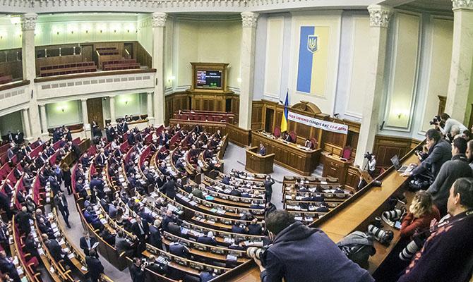 Рада проголосовала правки в закон об Антикоррупционном суде