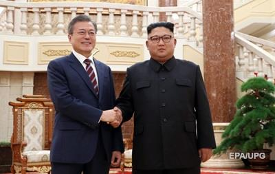 Лидеры Корей подписали итоговый документ саммита