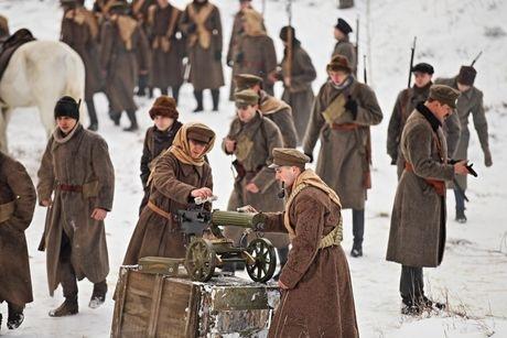 Невероятное зрелище: под Киевом стартовали съемки исторического фильма (ФОТО)
