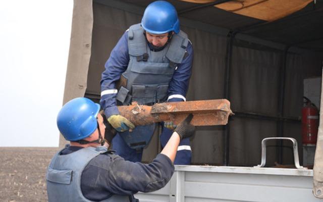 У Києві виявлені і знищені 4 вибухонебезпечних предмети часів Другої світової війни