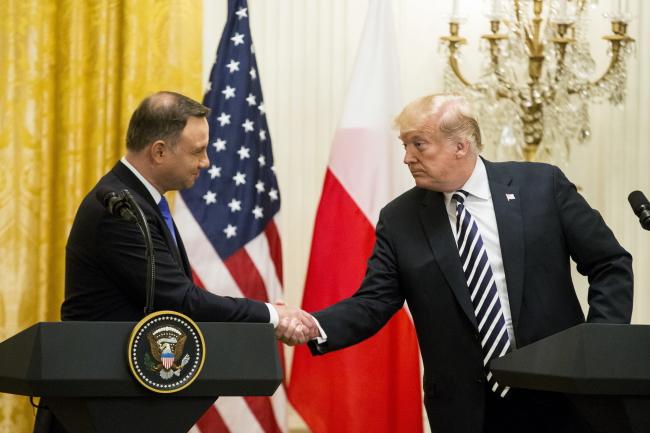 Трамп критикует Германию за «Северный поток 2»