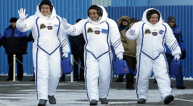 Казахстан: с космодрома Байконур стартовала ракета «Союз»