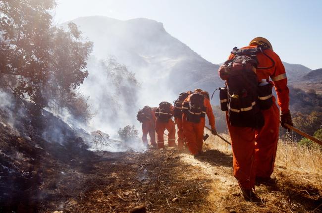 Количество смертельных жертв пожаров в Калифорнии увеличилось