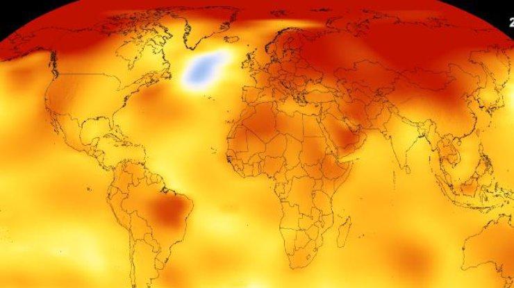 Глобальное потепление: NASA показало жуткий прогноз (видео)