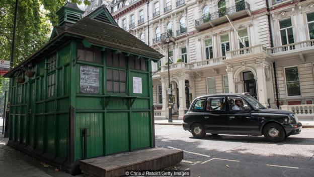 What's in London's secret green huts?