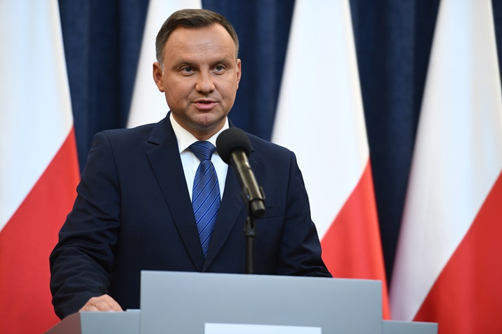 President Duda rejects proposed changes to EP elections law
