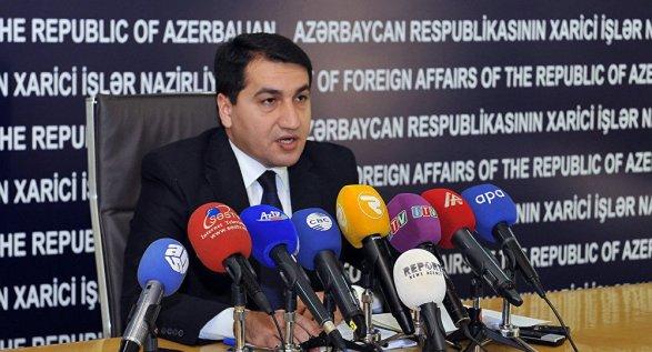 МИД Азербайджана о смене власти в Армении