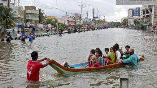 В Индии из-за наводнений погибли 357 человек