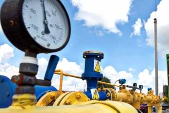 Ukraine boosts gas inventories 34 процентов since end of heating season