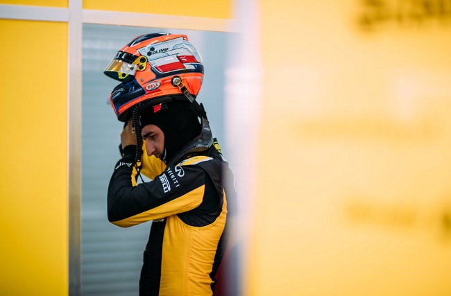 Kubica tests for Williams in Budapest