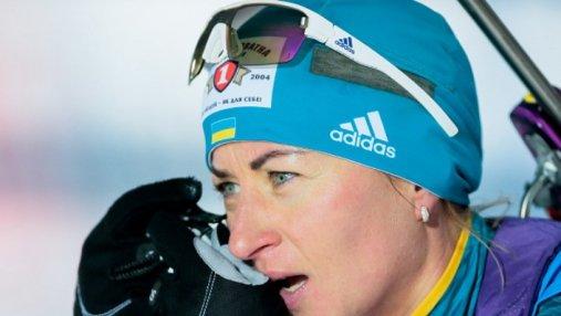 Биатлон: Вита Семеренко завоевала бронзу в спринте