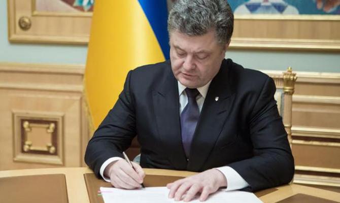 Порошенко подписал закон по обеспечению строительства мемориально-музейного комплекса Героев Небесной Сотни