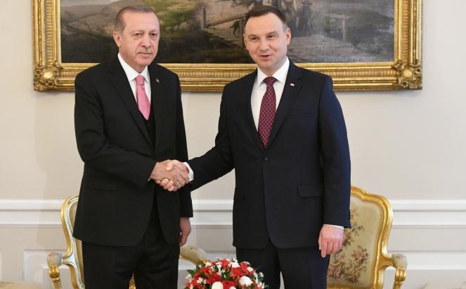 Президент Туреччини почав офіційний візит до Польщі
