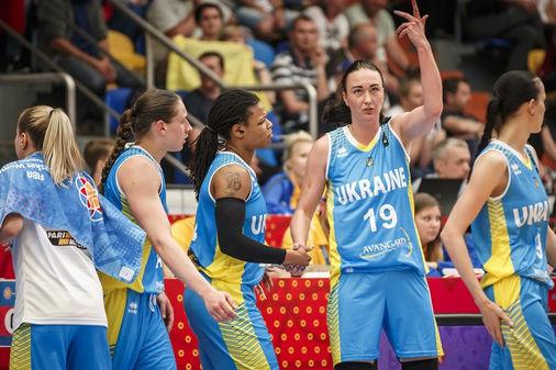 Украинки досрочно вышли в 1/8 финала Евробаскета