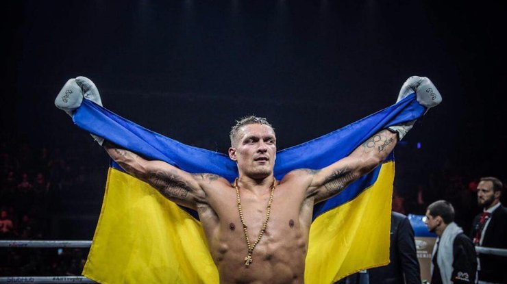 Александр Усик пообещал победу 10 ноября