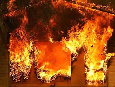 Пожежа в одеському таборі Вікторія виникла через забутий одним з вихователів кип'ятильник