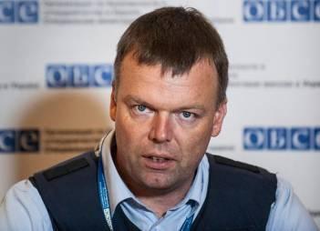 СММ ОБСЄ скасувала заплановане на середу спілкування спостерігачів з пресою в Мар'їнці та Донецьку