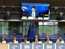 Данилюк принял участие в дискуссиях с евродепутатами и чиновниками Еврокомиссии в Брюсселе